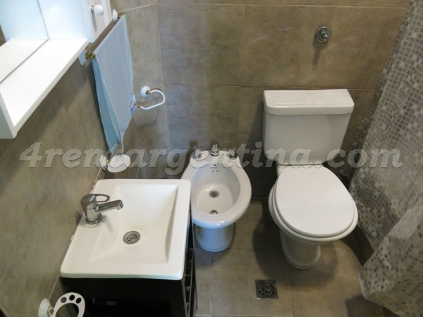 Piedras and Chile I, apartment fully equipped