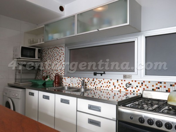 Gorriti and Uriarte, apartment fully equipped