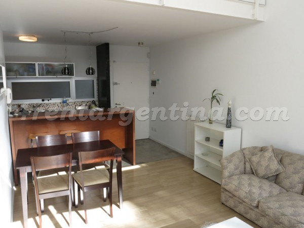 Gorriti and Uriarte: Furnished apartment in Palermo