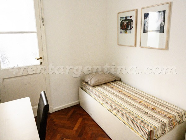 Bulnes and Libertador, apartment fully equipped