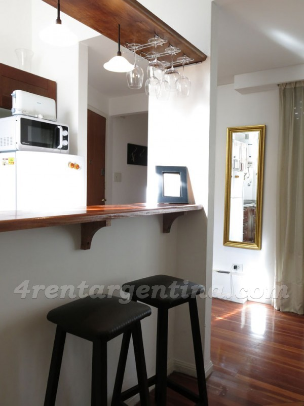 Pueyrredon and Melo: Apartment for rent in Recoleta