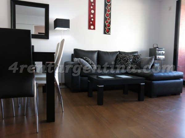 Zelaya and Aguero: Furnished apartment in Abasto