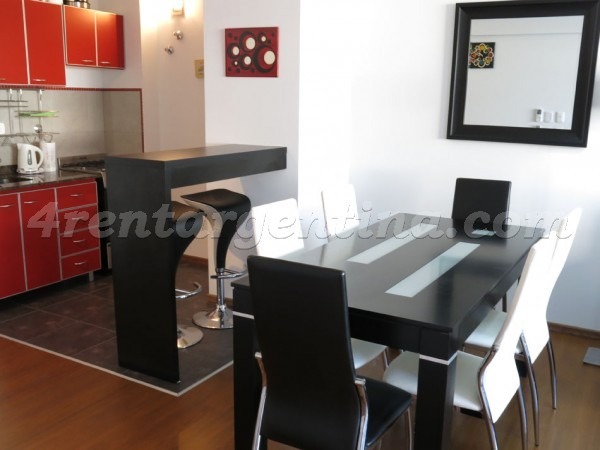 Zelaya and Aguero: Apartment for rent in Abasto