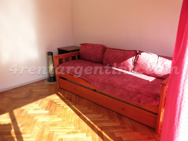 Gurruchaga and Velazco, apartment fully equipped
