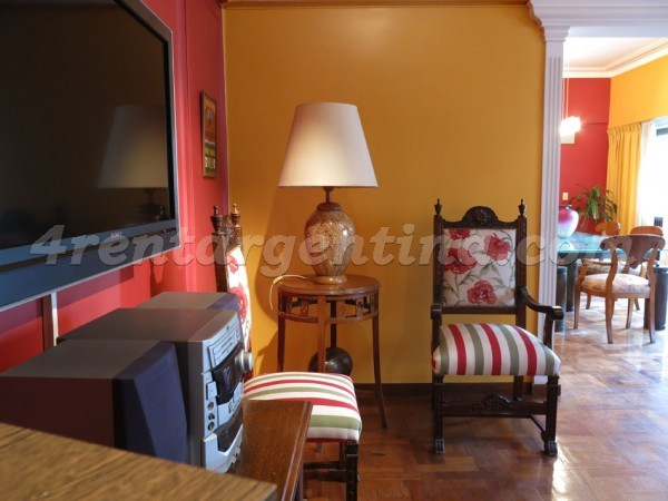 Las Heras and Scalabrini Ortiz: Furnished apartment in Palermo