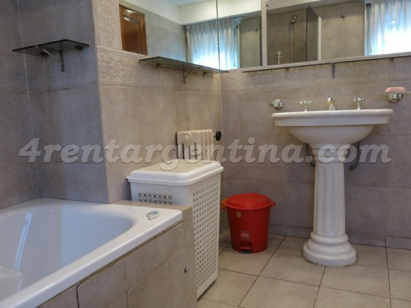 Las Heras and Scalabrini Ortiz: Apartment for rent in Palermo