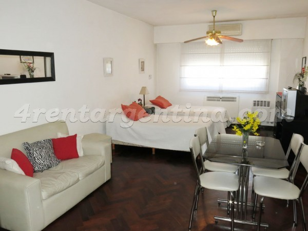 Corrientes and Suipacha VII: Furnished apartment in Downtown