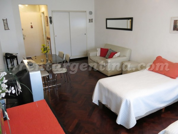 Corrientes et Suipacha VII: Furnished apartment in Downtown
