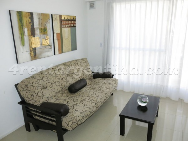 Scalabrini Ortiz and Costa Rica: Furnished apartment in Palermo