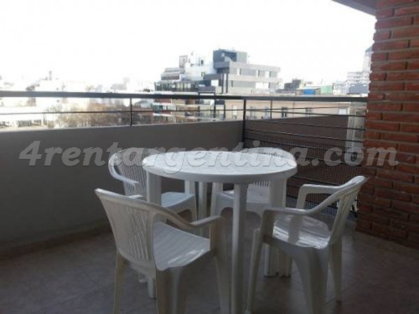 Appartement Corrientes et Billinghurst - 4rentargentina