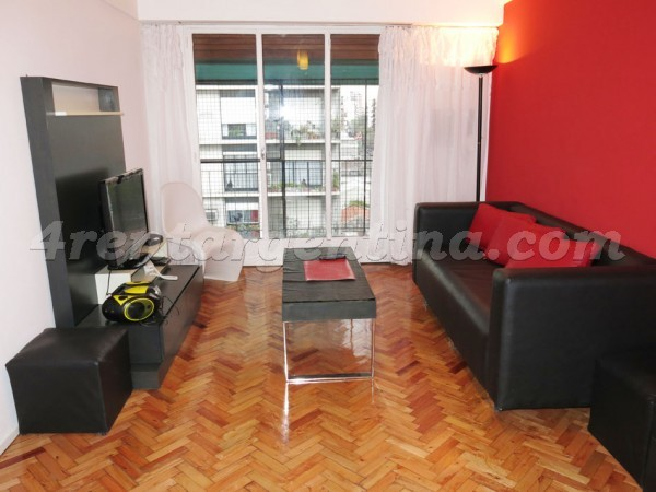 Yatay and Diaz Velez: Furnished apartment in Almagro