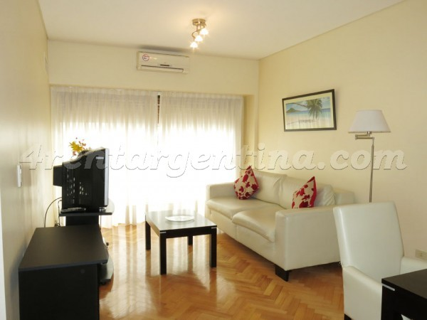 Larrea and Santa Fe: Furnished apartment in Recoleta