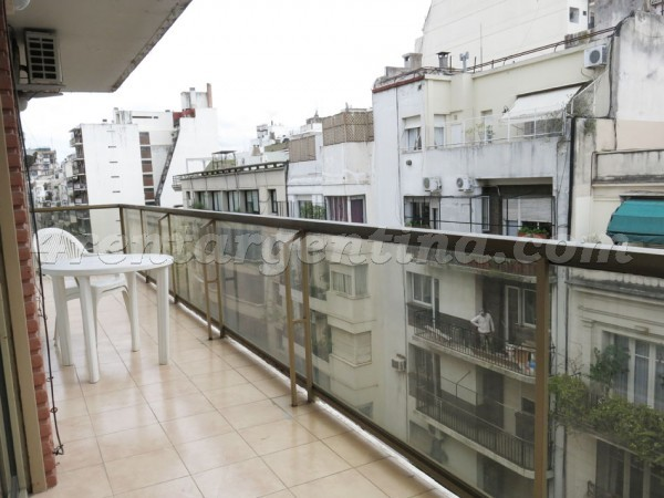 Larrea and Santa Fe, apartment fully equipped