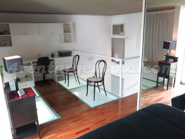 Paraguay and Arevalo III: Furnished apartment in Palermo