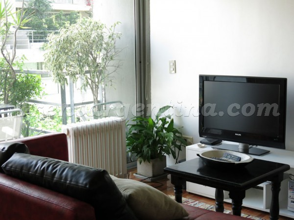 Paraguay and Arevalo III, apartment fully equipped