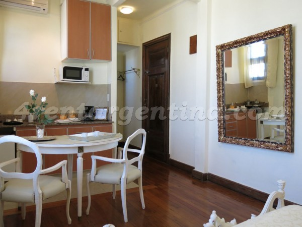 San Martin and Paraguay, apartment fully equipped