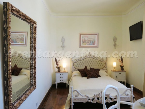 San Martin and Paraguay: Apartment for rent in Buenos Aires