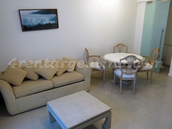 Pagano and Austria: Apartment for rent in Recoleta