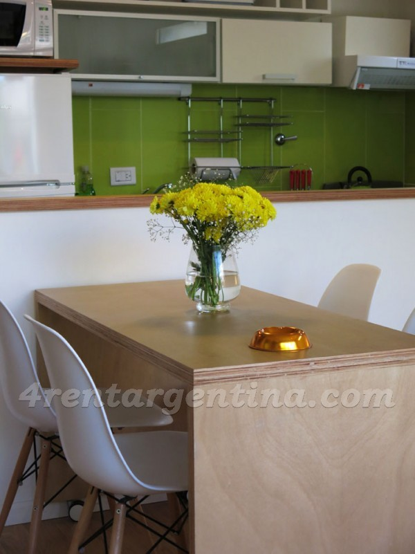 Cabrera et Gascon I, apartment fully equipped