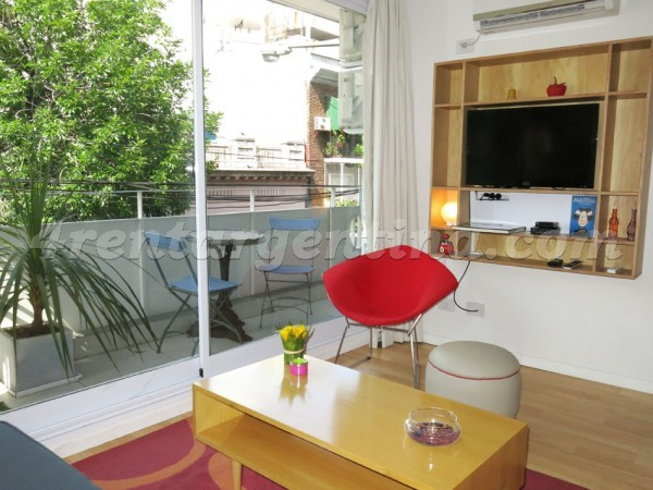 Cabrera and Gascon I: Furnished apartment in Palermo