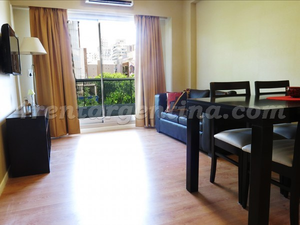 Roosevelt and Monta�eses, apartment fully equipped