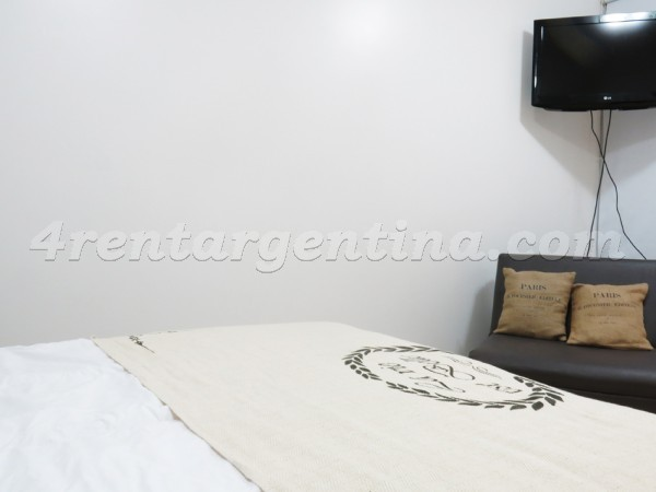 Las Heras and Azcuenaga: Apartment for rent in Recoleta