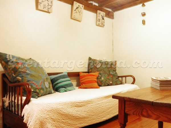 Brasil and Peru, apartment fully equipped