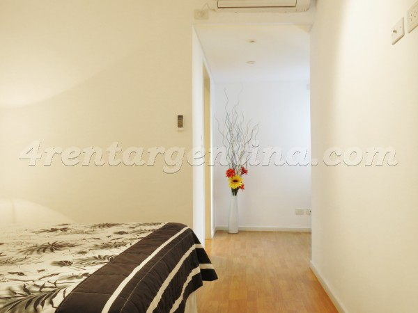 Julian Alvarez and Arenales: Furnished apartment in Palermo