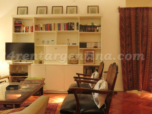 Juncal and Guido: Apartment for rent in Recoleta