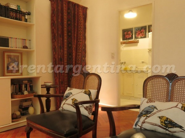 Juncal and Guido: Apartment for rent in Buenos Aires