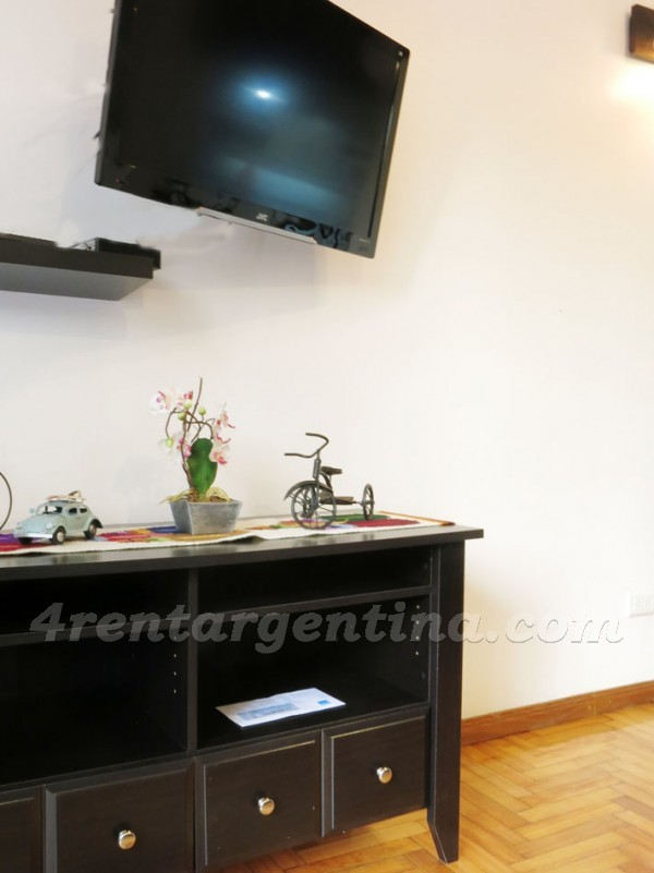 Aguero and Arenales, apartment fully equipped