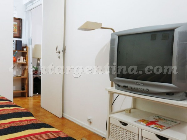 Santa Fe and Pueyrredon I: Furnished apartment in Recoleta