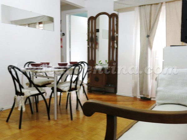 Santa Fe and Pueyrredon I: Apartment for rent in Buenos Aires