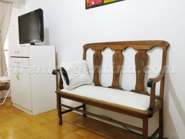 Santa Fe et Pueyrredon I, apartment fully equipped