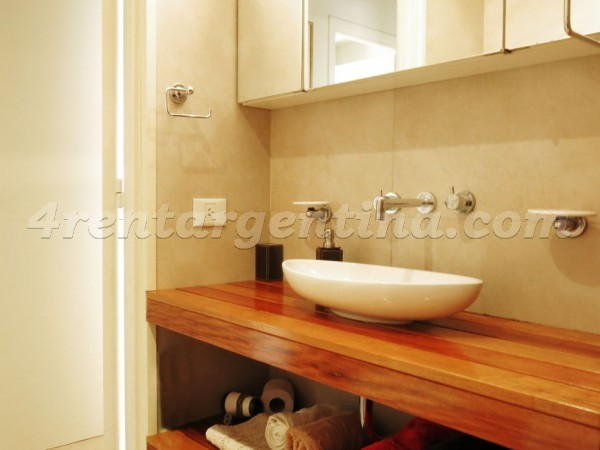 Posadas and R. Pe�a: Furnished apartment in Recoleta