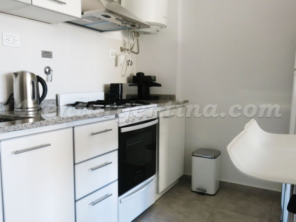 Dorrego and Nicaragua: Furnished apartment in Palermo