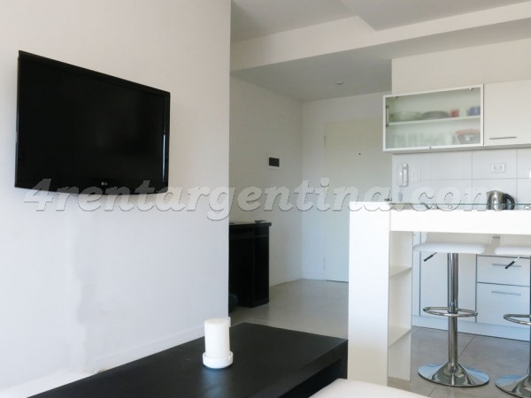 Dorrego and Nicaragua, apartment fully equipped