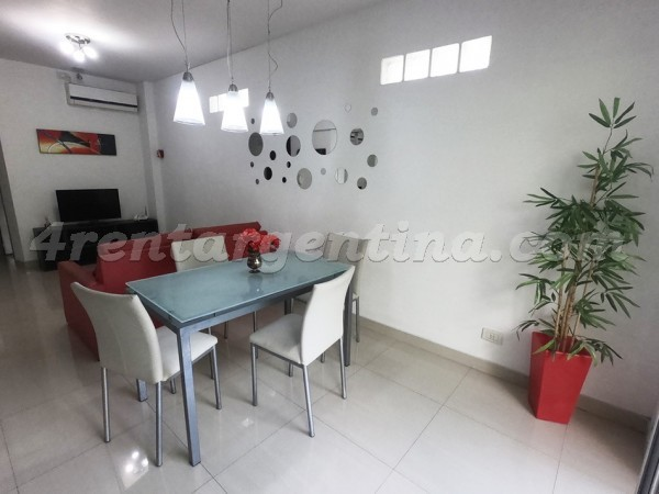 Thompson and Hualfin: Apartment for rent in Caballito