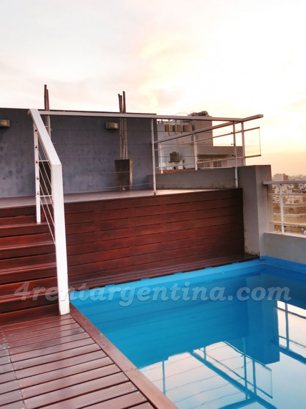 Monroe and Vidal: Furnished apartment in Belgrano
