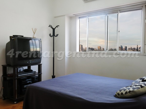 Corrientes and Uriburu, apartment fully equipped