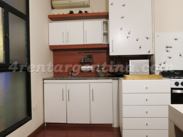 Independecia and Piedras, apartment fully equipped