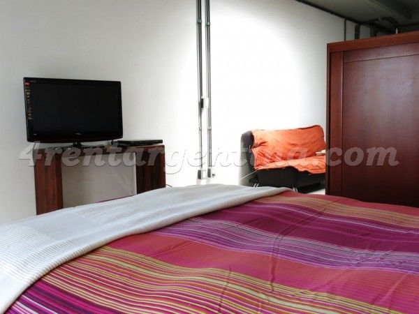 Peru and Chile I: Furnished apartment in San Telmo