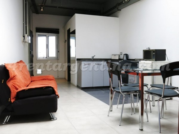 Peru and Chile I: Apartment for rent in San Telmo