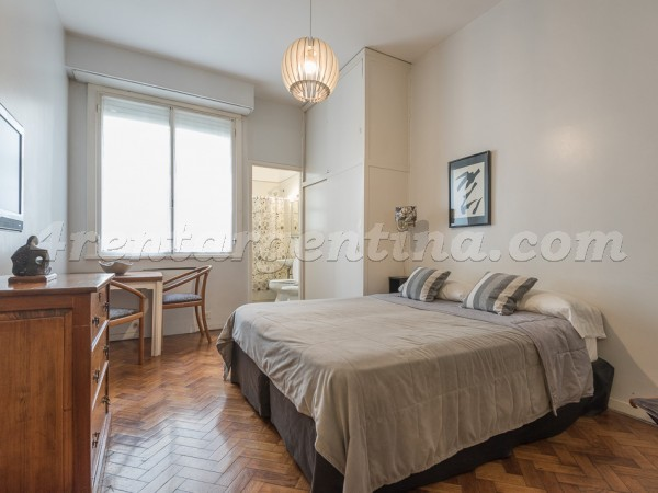Guido and Pueyrredon I: Apartment for rent in Buenos Aires