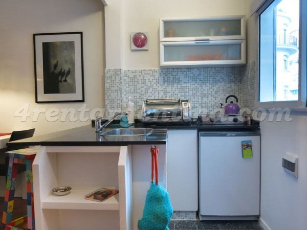 Arenales et Junin: Furnished apartment in Recoleta