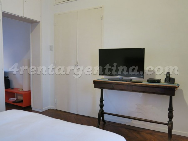 Arenales and Junin: Apartment for rent in Buenos Aires