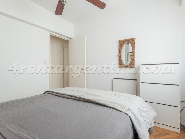 Bulnes and Mansilla, apartment fully equipped