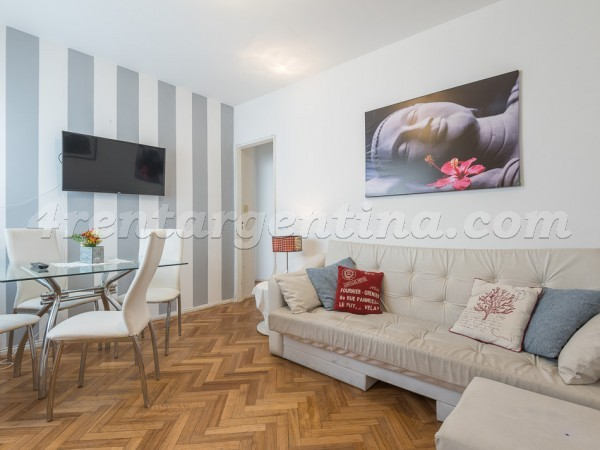 Bulnes and Mansilla: Furnished apartment in Palermo