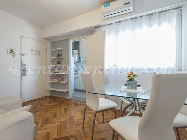 Bulnes and Mansilla: Apartment for rent in Palermo