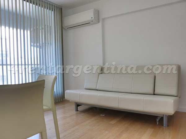 Azopardo and Independencia: Furnished apartment in San Telmo